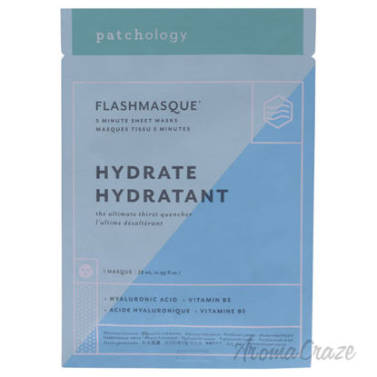 Picture of Flashmasque 5 Minute Facial Sheets Hydratant by Patchology for Unisex 1 Pc Mask