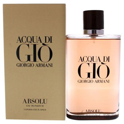 Picture of Acqua Di Gio Absolu by Giorgio Armani for Men 6.7 oz EDP Spray
