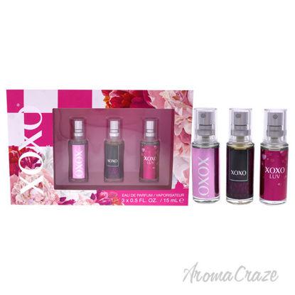 Picture of XoXo by XOXO for Women 3 Pc Mini Gift Set 0.5oz EDP Spray, 0.5oz Mi Amore EDP Spray, 0.5oz XoXo Luv EDP Spray