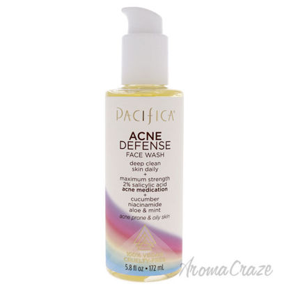 Picture of Acne Defense Face Wash by Pacifica for Unisex 5.8 oz Cleanser