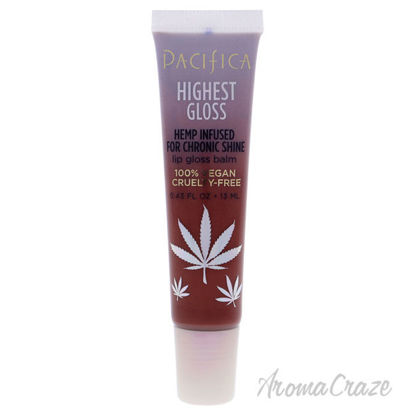 Picture of Highest Gloss Hemp Lip Balm Strawberry Rose by Pacifica for Women 0.43 oz Lip Balm