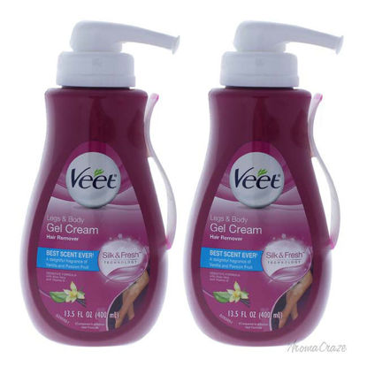 Picture of Legs and Body Gel Cream by Veet for Women 13.5 oz Hair Remover Pack of 3
