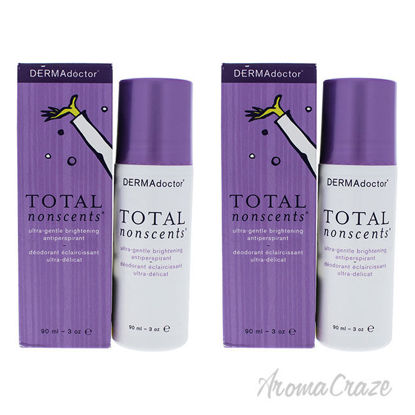Picture of Total NonScents Ultra Gentle Brightening Antiperspirant by DERMAdoctor for Women 3 oz Deodorant Pack of 2