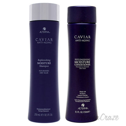 Picture of Caviar Anti Aging Replenishing Moisture Shampoo and Conditioner Kit by Alterna for Unisex 2 Pc Kit
