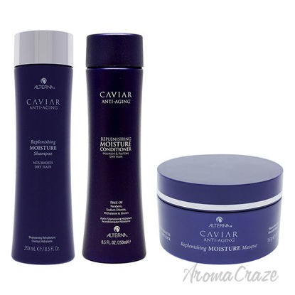 Picture of Caviar Anti Aging Replenishing Moisture Kit by Alterna for Unisex 3 Pc Kit
