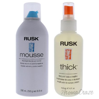Picture of Mousse Maximum Volume and Control and Thick Body and Texture Amplifier Kit by Various Designers for Unisex 2 Pc Kit