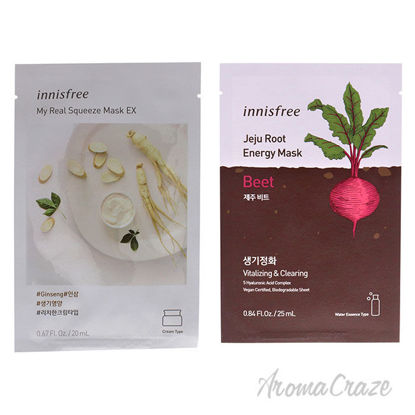 Picture of Innisfree Mask Ginseng and Beet Kit by Innisfree for Unisex 2 Pc Kit