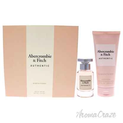 Picture of Authentic by Abercrombie and Fitch for Women 2 Pc Gift Set 1.7oz EDP Spray, 6.7oz Body Lotion