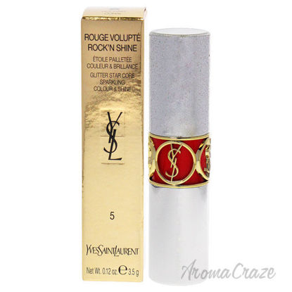 Picture of Rouge Volupte RockN Shine Lipstick 05 Rocking Coral by Yves Saint Laurent for Women 0.12 oz Lipstick