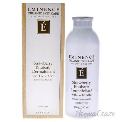 Picture of Strawberry Rhubarb Dermafoliant With Lactic Acid by Eminence for Unisex 4.2 oz Exfoliator
