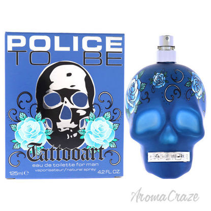 Picture of To Be TattooArt by Police for Men-4.2 oz EDT Spray