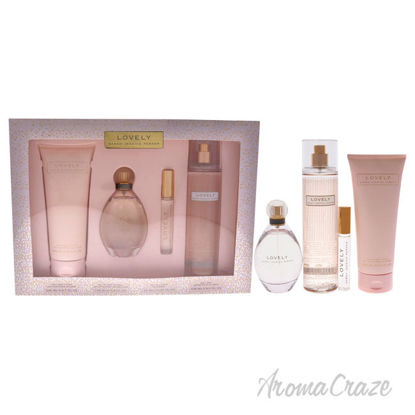 Picture of Lovely by Sarah Jessica Parker for Women-4 Pc Gift Set