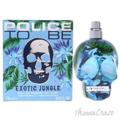 Picture of Police To Be Exotic Jungle by Police for Men-2.5 oz EDT Spray