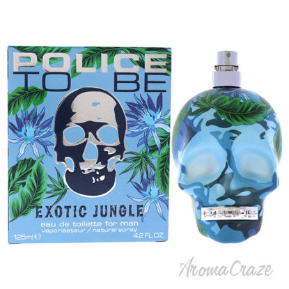 Picture of Police To Be Exotic Jungle by Police for Men-4.2 oz EDT Spray