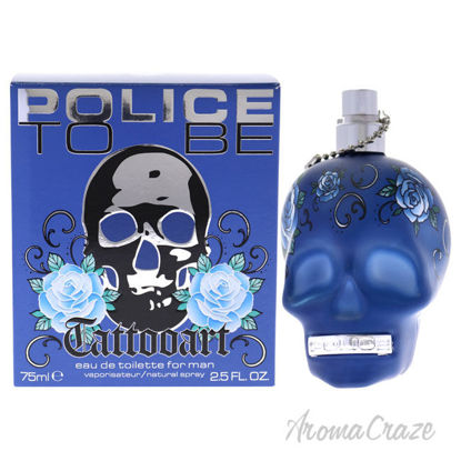 Picture of To Be Tattooart by Police for Men-2.5 oz EDT Spray