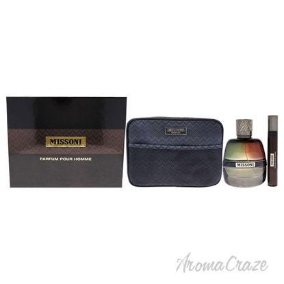 Picture of Missoni by Missoni for Men-3 Pc Gift Set 3.4oz EDP Spray, 0.33oz EDP Spray, Trousse