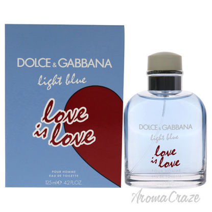 Picture of Light Blue Love Is Love by Dolce and Gabbana for Men 4.2 oz