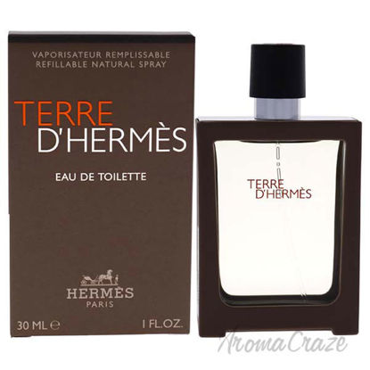 Picture of Terre Dhermes by Hermes for Men 1 oz EDT Spray (Refill)
