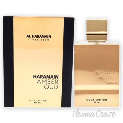 Picture of Amber Oud by Al Haramain for Unisex 4 oz EDP Spray (Gold Edition)