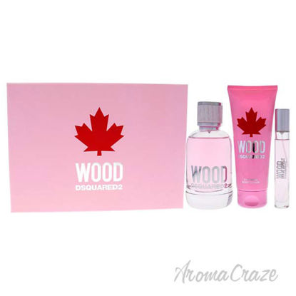 Picture of Wood Pour Femme by Dsquared2 for Women 3 Pc Gift Set