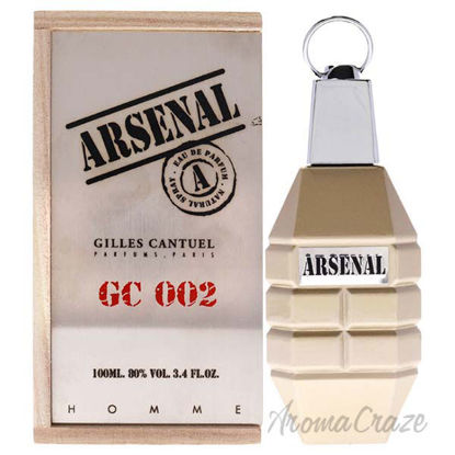 Picture of Arsenal GC 002 by Gilles Cantuel for Men 3.4 oz EDP Spray