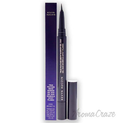 Picture of True Feather Brow Marker Gel Duo Dark Brunette by Kevyn Aucoin for Women 0.06 oz Brow Gel