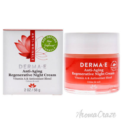 Picture of Anti-Aging Regenerative Night Cream by Derma-E for Unisex-2 oz Cream