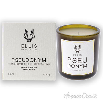 Picture of Terrific Scented Candle-Pseudonym by Ellis Brooklyn for Unisex-6.5 oz Candle
