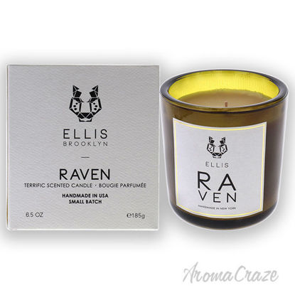 Picture of Terrific Scented Candle-Raven by Ellis Brooklyn for Unisex-6.5 oz Candle