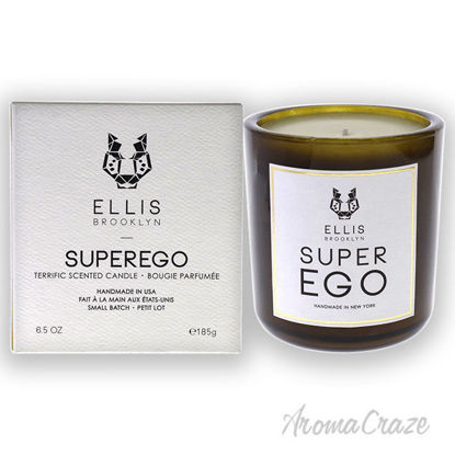 Picture of Terrific Scented Candle-Superego by Ellis Brooklyn for Unisex-6.5 oz Candle