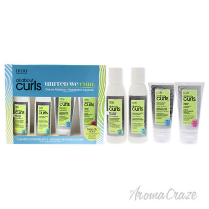 Picture of All About Curls Deluxe Moisture Kit by Zotos for Unisex 4 Pc