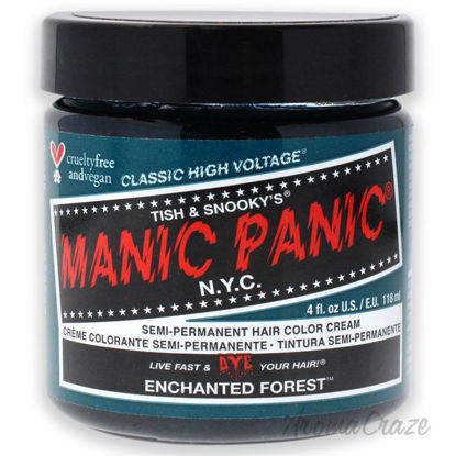 Picture of Classic High Voltage Hair Color Enchanted Forest by Manic Panic for Unisex 4 oz Hair Color