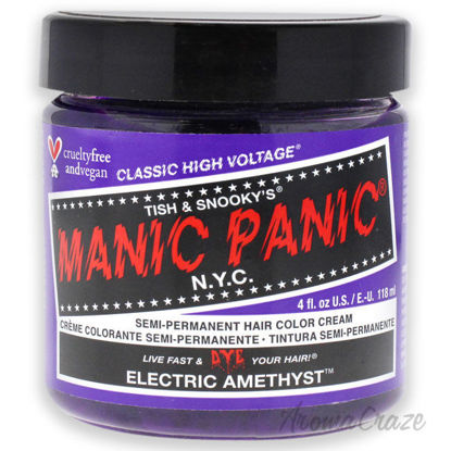 Picture of Classic High Voltage Hair Color Electric Amethyst by Manic Panic for Unisex 4 oz Hair Color