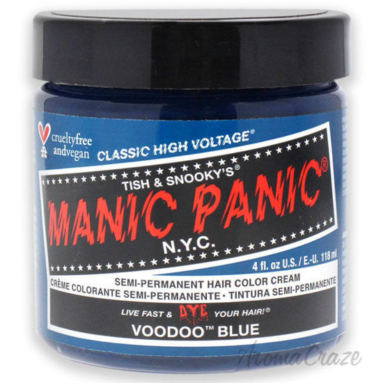 Picture of Classic High Voltage Hair Color Voodoo Blue by Manic Panic for Unisex 4 oz Hair Color