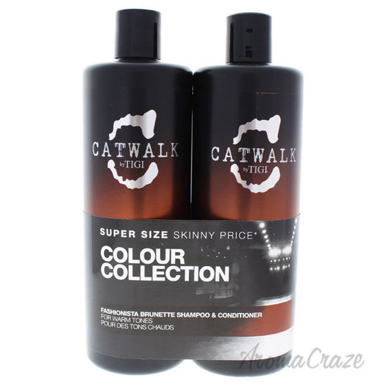 Picture of Catwalk Fashionista Brunette Duo by TIGI for Unisex 25.36 oz Shampoo & Conditioner