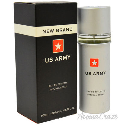 Picture of US Army by New Brand for Men 3.3 oz EDT Spray