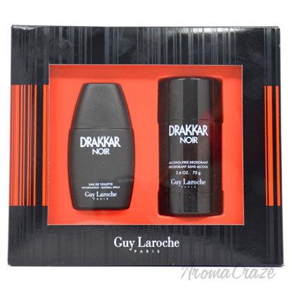 Picture of Drakkar Noir by Guy Laroche for Men 2 Pc Gift Set 1oz EDT Spray, 2.6oz Alcohol-Free Deodorant