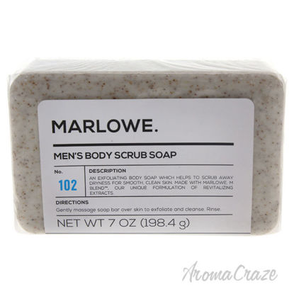 Picture of No. 102 Mens Body Scrub Soap by Marlowe for Men 7 oz Soap