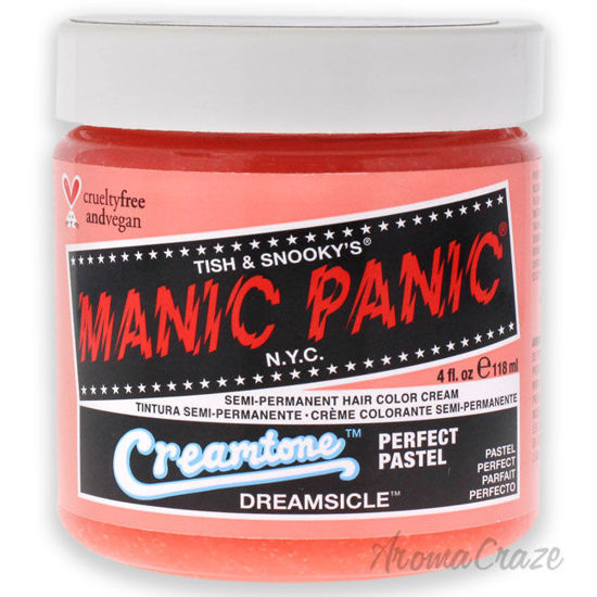 Picture of Creamtone Perfect Pastel Hair Color Dreamsicle by Manic Panic for Unisex 4 oz Hair Color