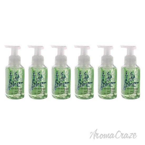 Picture of Eucalyptus Mint Hand Soap by Bath and Body Works for Unisex 8.75 oz Soap Pack of 6