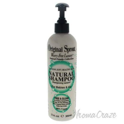 Picture of Natural Shampoo by Original Sprout for Kids - 12 oz Shampoo