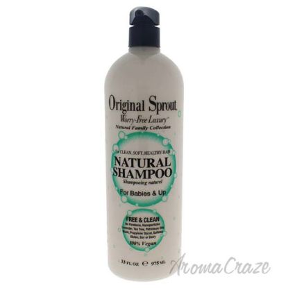 Picture of Natural Shampoo by Original Sprout for Kids - 33 oz Shampoo
