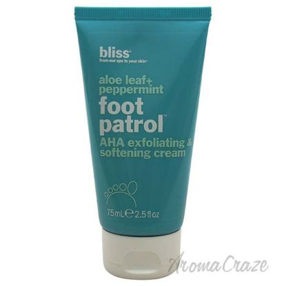 Picture of Aloe Leaf + Peppermint Foot Patrol AHA Exfoliating & Softening Cream by Bliss for Unisex