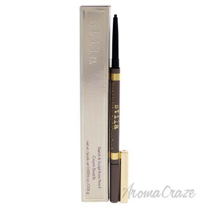 Picture of Sketch And Sculpt Brow Pencil - Medium by Stila for Women - 0.0016 oz Eyebrow Pencil