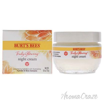 Picture of Truly Glowing Night Cream by Burts Bees for Unisex - 1.8 oz Cream