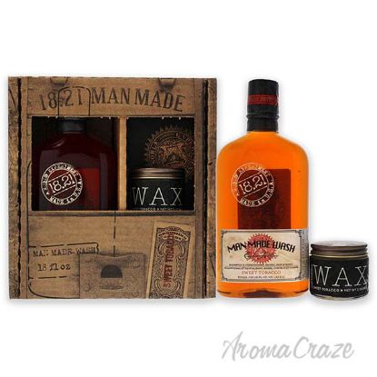 Picture of Man Made Set - Sweet Tobacco by 18.21 Man Made for Men - 2 Pc