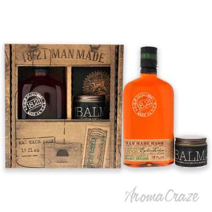 Picture of Man Made Set - Spiced Vanilla by 18.21 Man Made for Men - 2 Pc