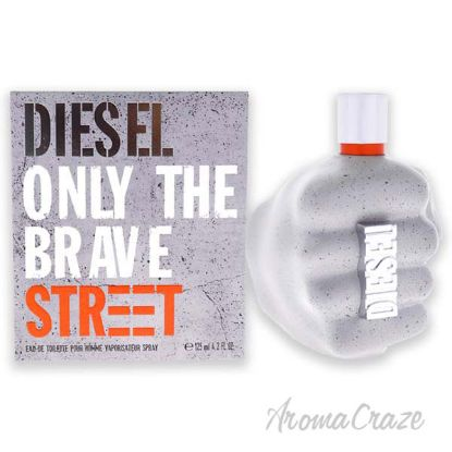 Picture of Diesel Only The Brave Street by Diesel for Men - 4.2 oz EDT Spray