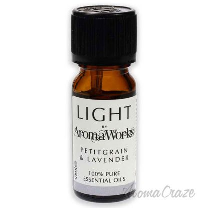 Picture of Light Essential Oil Petitgrain and Lavender by Aromaworks for Unisex 0.33 oz Oil