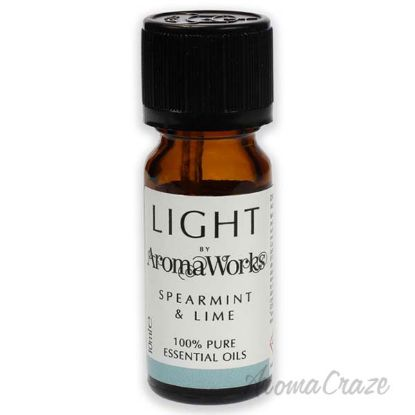 Picture of Light Essential Oil Spearmint and Lime by Aromaworks for Unisex 0.33 oz Oil
